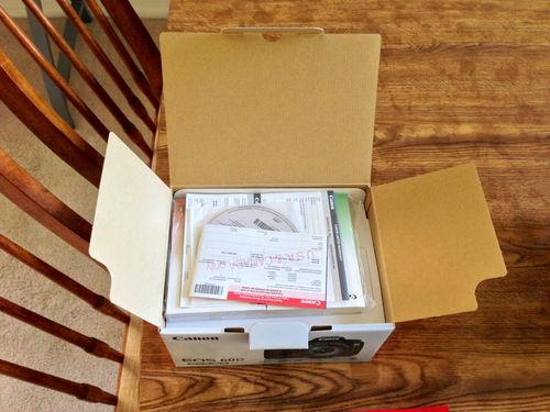 Canon 60D in box