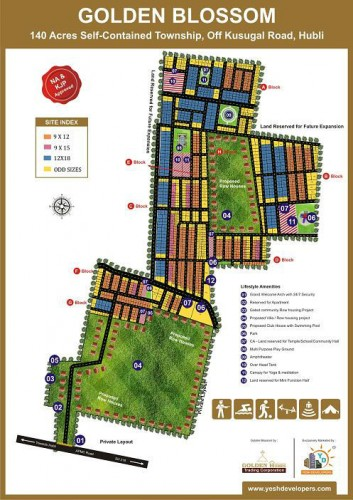 plots_in_hubli_yesh_golden_blossom_layout_map1