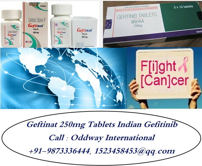 Geftinat 250mg Tablets India Gefitinib