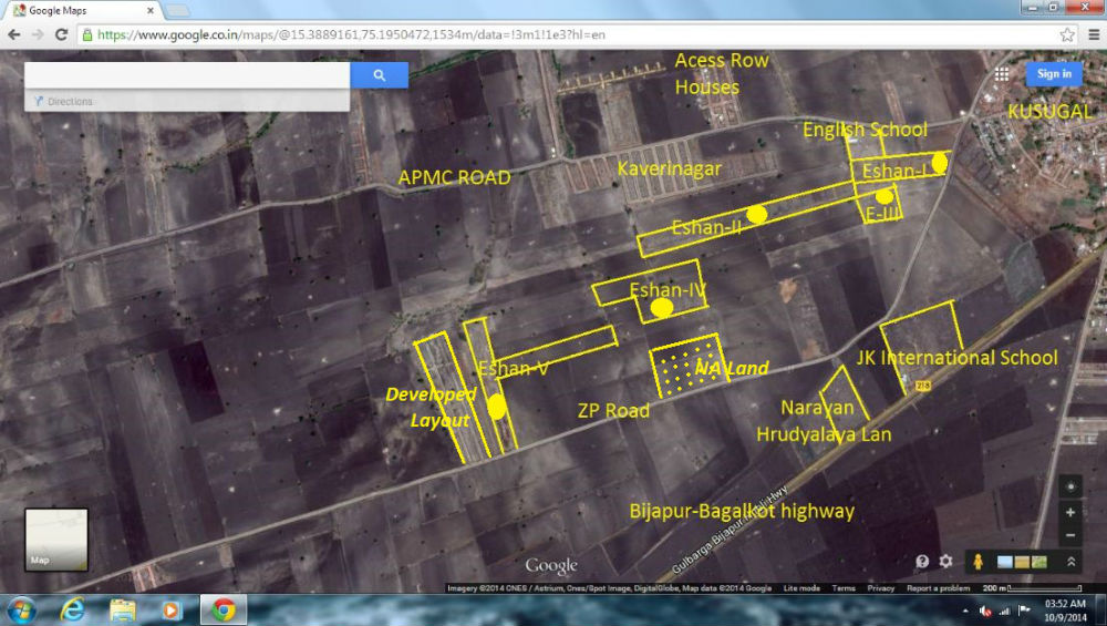 Neelgund eshan layouts google map