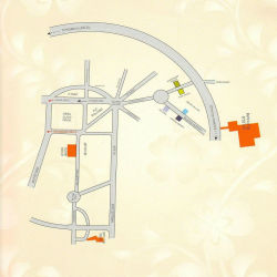 plots_in_hubli_golden_blossom_routemap_drawn1