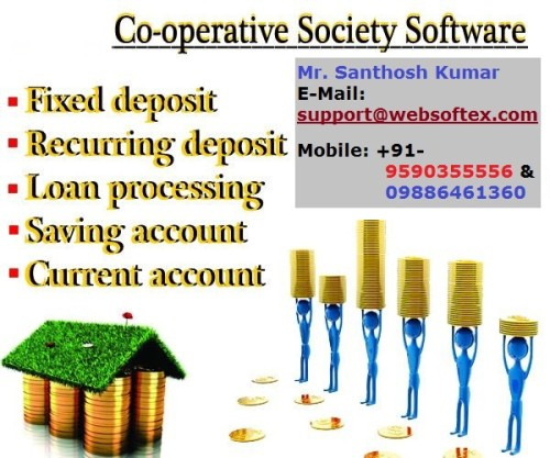 Co-Operative Software, Online Co-Operative, Co-Operative Banking Software, Co-Operative & Loan Software