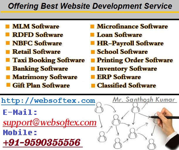MLM Generation Plan, Money Chit Fund Software, Accounting Software, Co-Operative Software